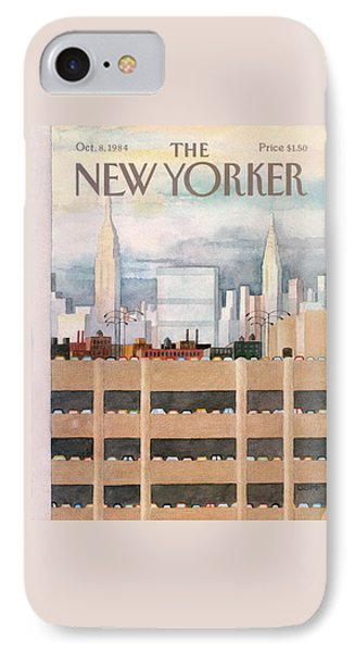 New Yorker October 8th, 1984 IPhone Case by Charles E. Martin