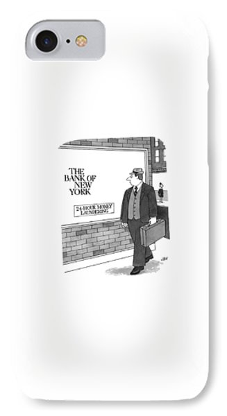 New Yorker September 13th, 1999 IPhone Case