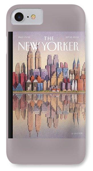 New Yorker September 15th, 2003 IPhone Case by Gurbuz Dogan Eksioglu