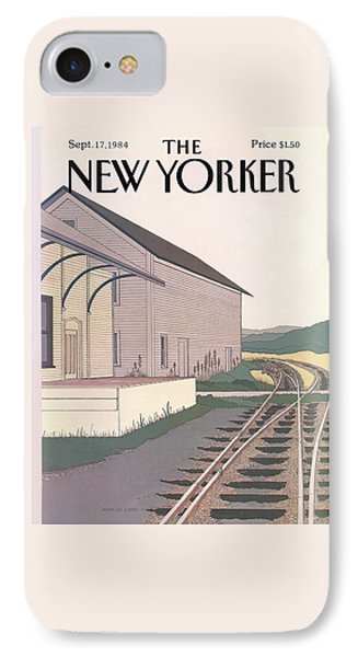 New Yorker September 17th, 1984 IPhone Case