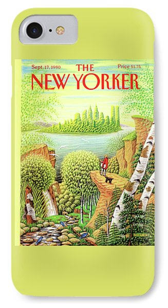New Yorker September 17th, 1990 IPhone Case