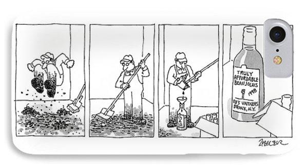 New Yorker September 21st, 1998 IPhone Case by Jack Ziegler