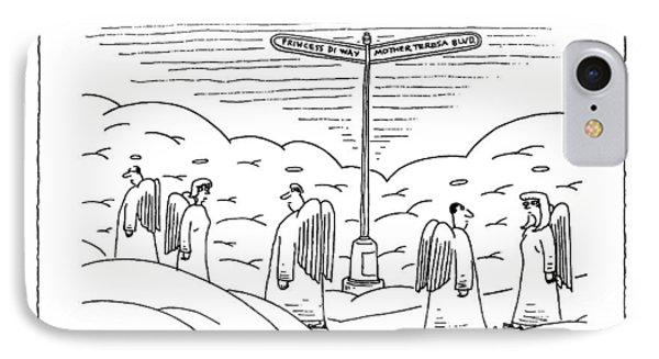 New Yorker September 22nd, 1997 IPhone Case by Mick Stevens