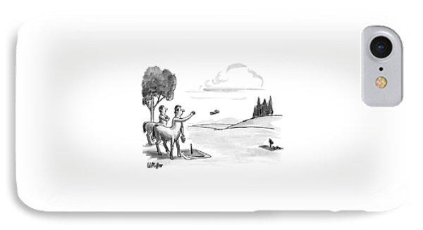 New Yorker September 24th, 1990 IPhone Case by Warren Miller