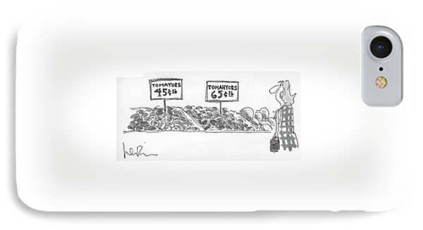 New Yorker September 27th, 1976 IPhone Case by Arnie Levin