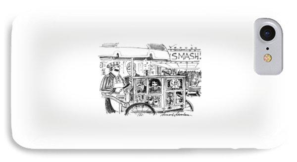 New Yorker September 27th, 1993 IPhone Case by Bernard Schoenbaum