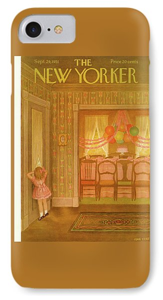New Yorker September 29th, 1951 IPhone Case