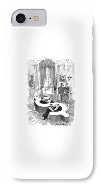 New Yorker September 6th, 1999 IPhone Case by Bernard Schoenbaum