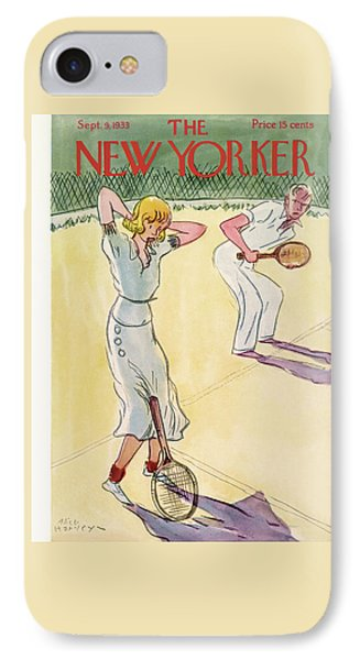 New Yorker September 9th, 1933 IPhone Case