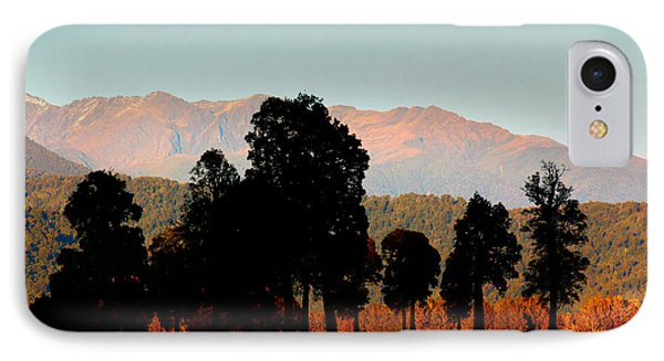 IPhone Case featuring the photograph New Zealand Silhouette by Amanda Stadther