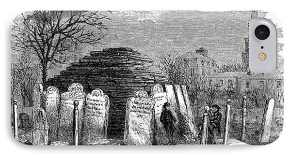 Newark Cemetery, 1876 Phone Case by Granger