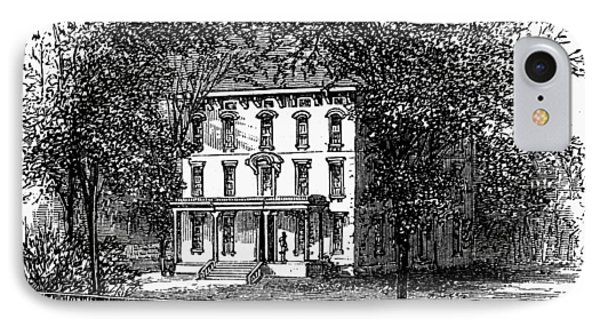 Newark Mansion, 1876 Phone Case by Granger