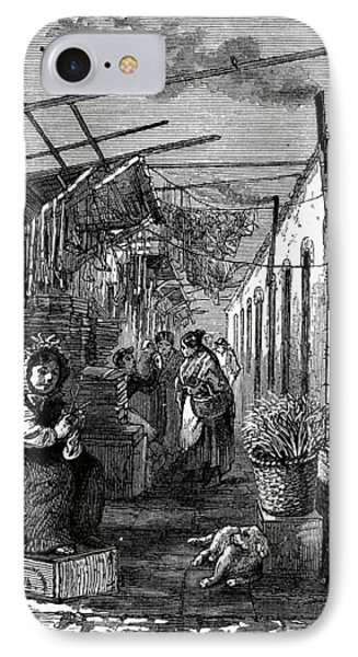 Newark Market, 1876 Phone Case by Granger