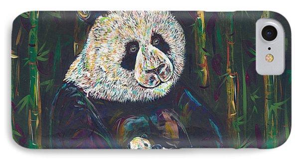 Newborn Panda IPhone Case