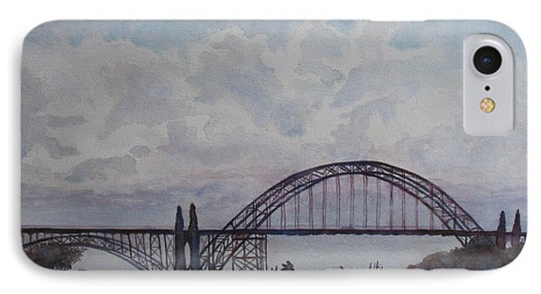 Newport Bay Bridge I IPhone Case by Jenny Armitage