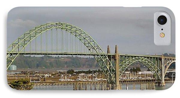 Newport Bay Bridge IPhone Case by Susan Garren