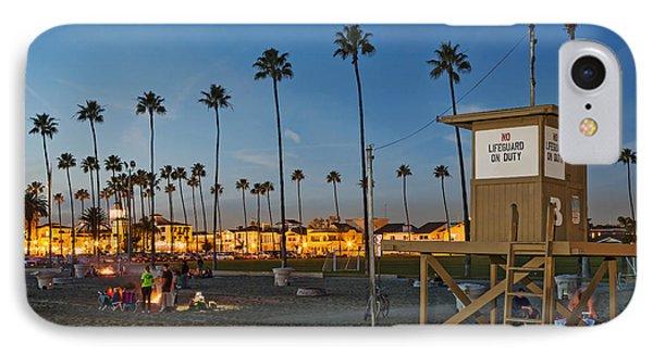 Newport Beach At Dusk IPhone Case