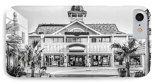 Newport Beach Panorama Of Balboa Main Street IPhone Case by Paul Velgos