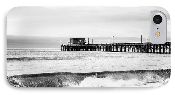 Newport Beach Pier IPhone Case by Paul Velgos