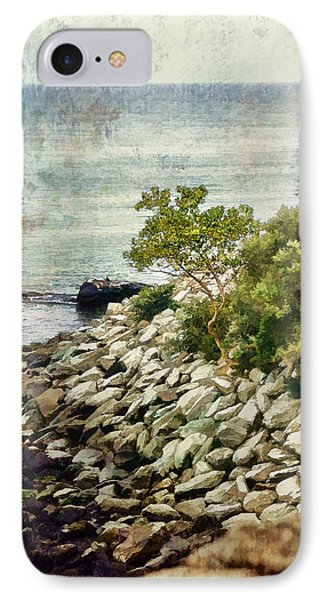 Newport Cliff Walk IPhone Case
