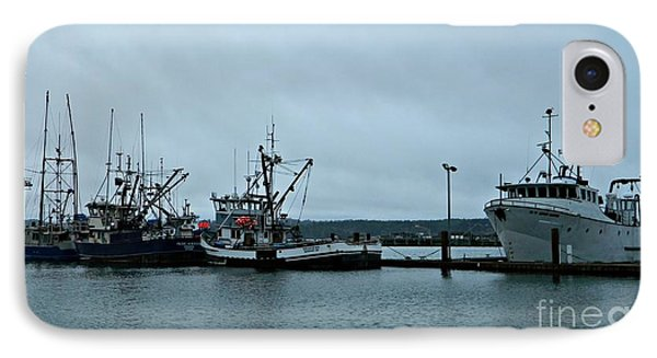 Newport Fishing Boats IPhone Case by Chalet Roome-Rigdon