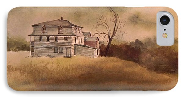 IPhone Case featuring the painting Newport Vermont by Joy Nichols