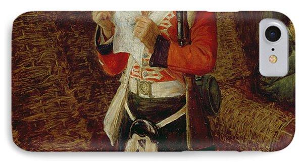 News From Home IPhone Case by Sir John Everett Millais