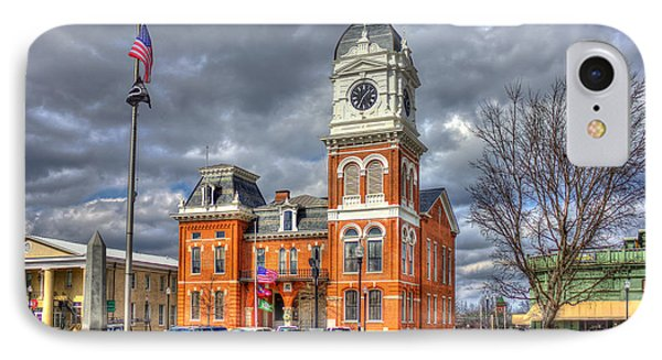 Historic Newton County Court House  IPhone Case by Reid Callaway