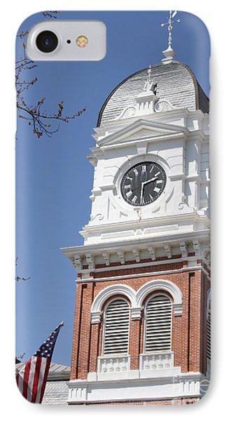 Newton County Courthouse Phone Case by Cathy Lindsey