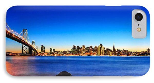 Next To The Bay Bridge And San Francisco Skyline IPhone Case