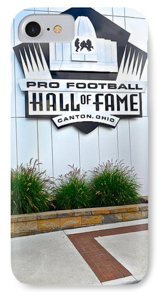 Nfl Hall Of Fame Phone Case by Frozen in Time Fine Art Photography