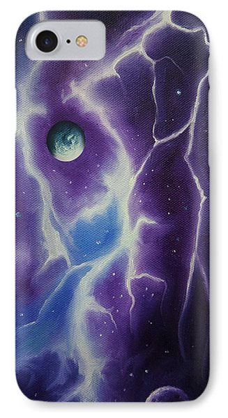 Ngc 1034 IPhone Case by James Christopher Hill