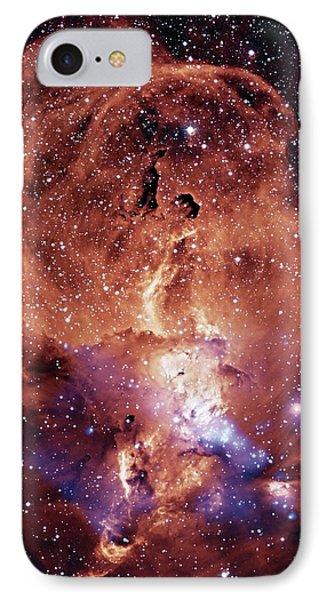 Ngc 3576 Nebula IPhone Case by Nasa