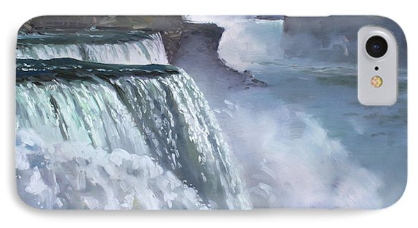 Niagara American Falls IPhone Case by Ylli Haruni