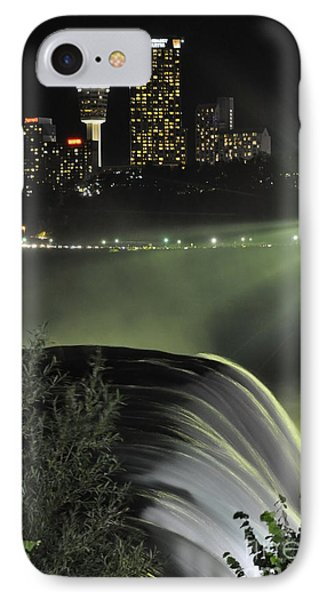 IPhone Case featuring the photograph Niagara At Night by Gina Savage