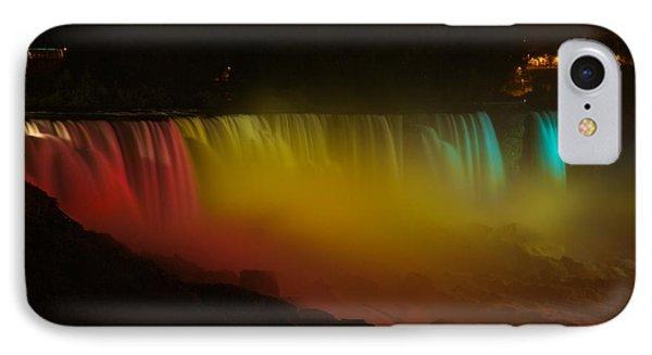 Niagara Falls A Glow IPhone Case by Dave Files