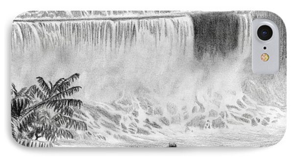 Niagara Falls And The Maid Of The Mist IPhone Case by Kayleigh Semeniuk