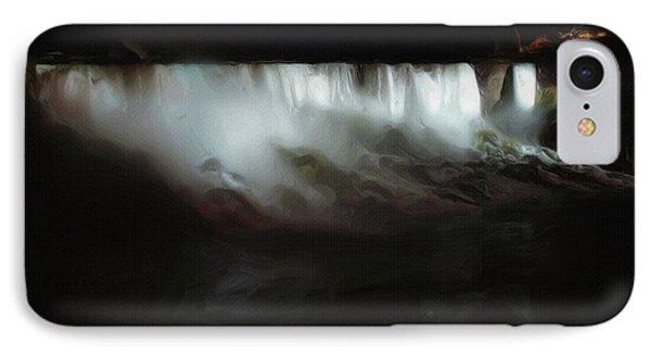 Niagara Falls By Night IPhone Case by Ayse Deniz