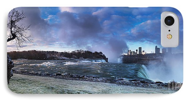 Niagara Falls Dramatic Panoramic Scenery IPhone Case