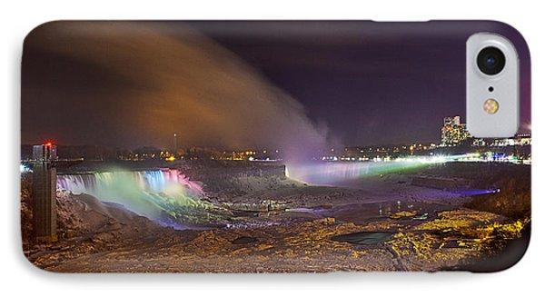 Niagara Falls Ice Bridge IPhone Case by Richard Engelbrecht