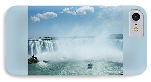 Niagara Falls In Spring IPhone Case by Phil Banks