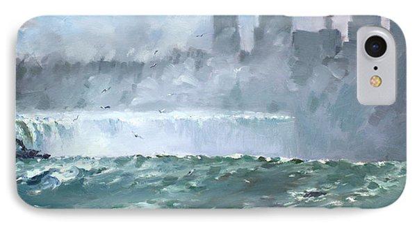 Niagara  Falls Mist  Phone Case by Ylli Haruni