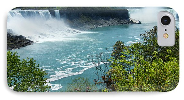 Niagara Falls - Springtime IPhone Case by Phil Banks