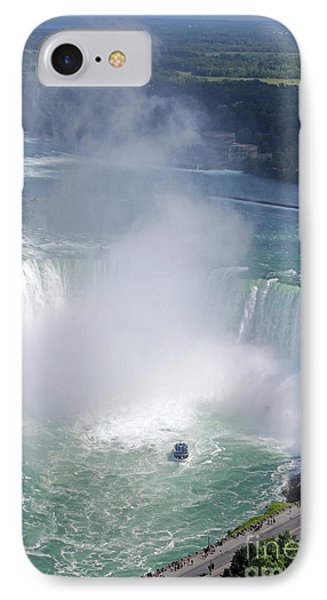 Niagara Falls Summer Vertical IPhone Case by Charline Xia