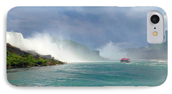 Niagra IPhone Case by Linda Mesibov