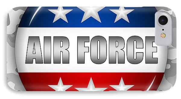 Nice Air Force Shield 2 Phone Case by Pamela Johnson