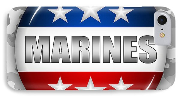 Nice Marines Shield 2 IPhone Case