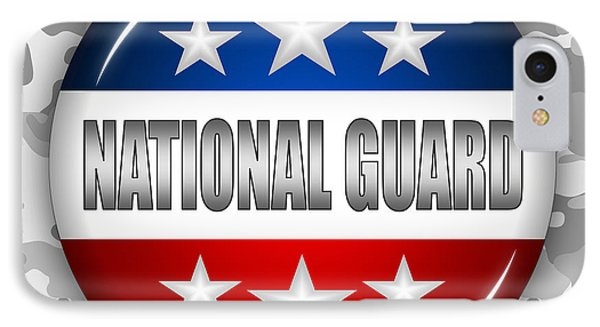 Nice National Guard Shield 2 Phone Case by Pamela Johnson