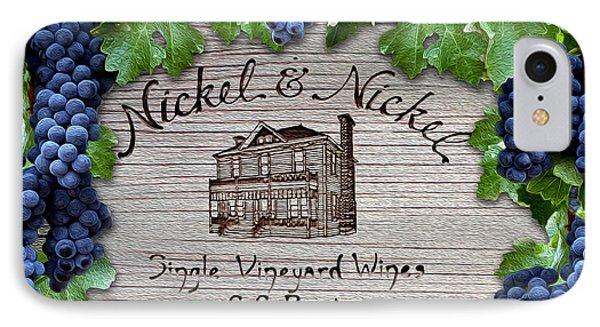 Nickel And Nickel Winery IPhone Case by Jon Neidert