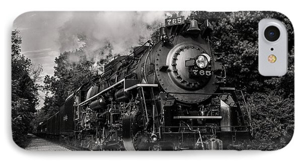 Nickel Plate Berkshire 765 IPhone Case by Dale Kincaid